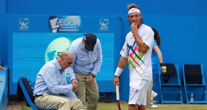 David Nalbandian: Could return to Queen's next season