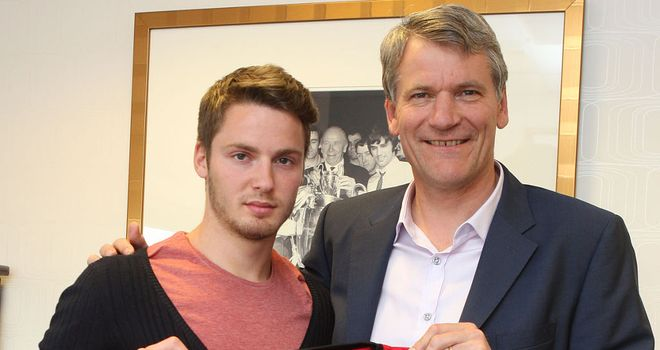 Nick Powell: Backed to shine by Rio Ferdinand in his first season at Old Trafford