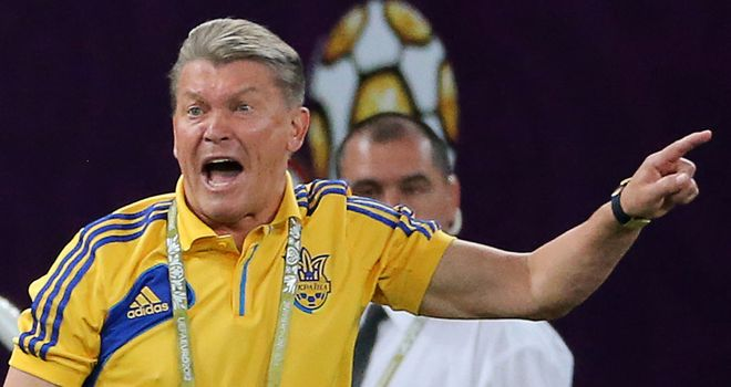 Oleg Blokhin: Believes his side have nothing to lose in Wembley encounter