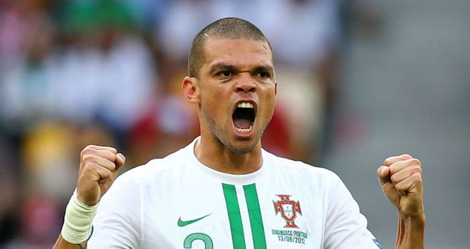 Pepe: Portugal defender is a rock at the heart of their defence