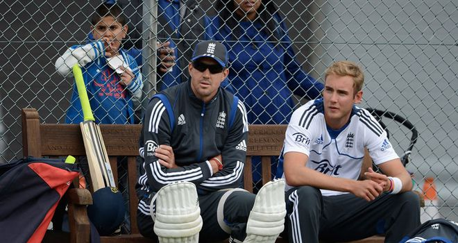 In good nick: Pietersen will get on with job, but Athers wonders if Broad will be benched