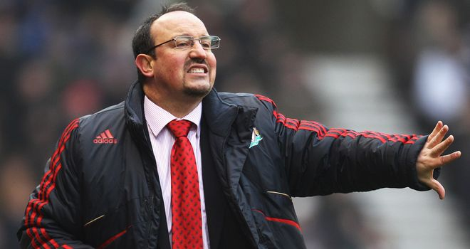 Rafael Benitez: Targeted by Sampdoria but will not be their new boss