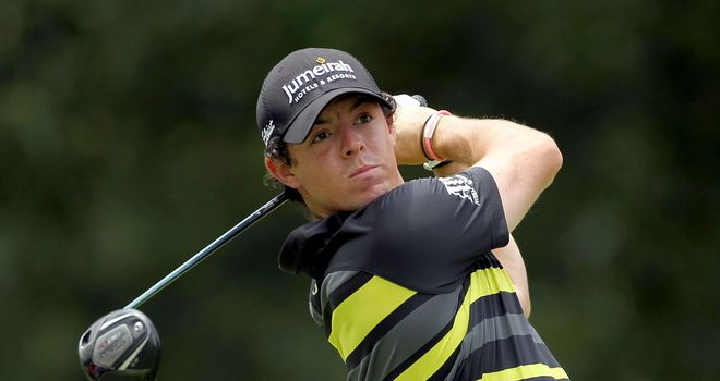 Rory McIlroy: hit just six fairways all day