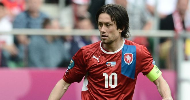 Tomas Rosicky: Aggravated a foot injury against Greece