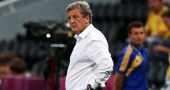 Roy Hodgson: Admitted England enjoyed a slice of good fortune against Ukraine