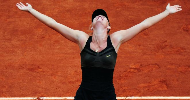 Maria Sharapova: Looking to follow up her French Open success at Wimbledon