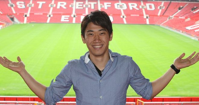 Shinji Kagawa: Looking forward to the exciting and tough challenges ahead at Old Trafford