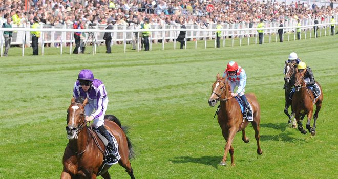 St Nicholas Abbey wins last year's Coronation Cup