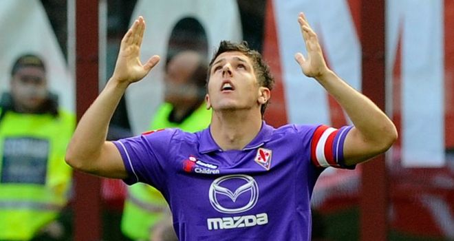 Stevan Jovetic: Opted against a summer move away from Fiorentina