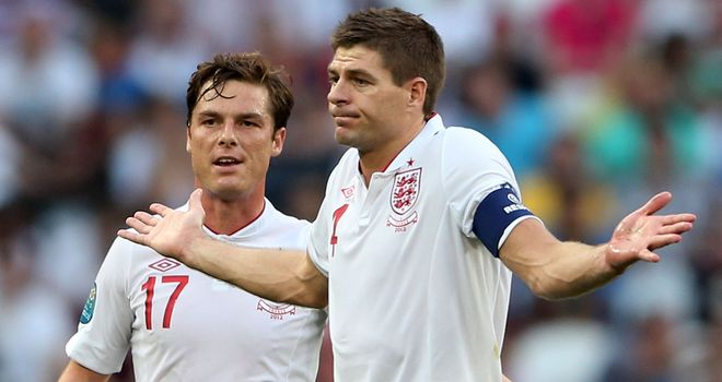 Parker & Gerrard: heavy workload for midfield duo