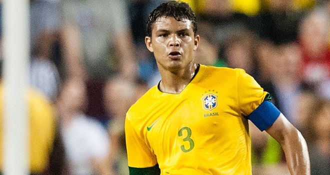 Thiago Silva: Has completed a big-money move to Paris St Germain