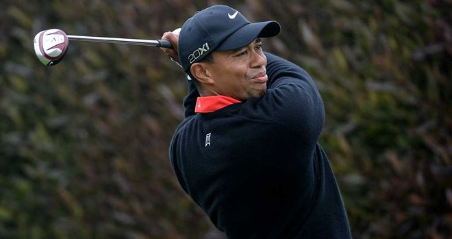 Tiger Woods: Joint leader at halfway but slipped up on the weekend