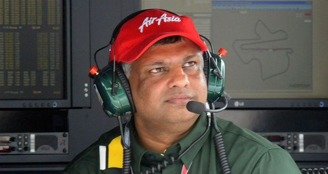 Tony Fernandes: Denied reports he was planning to sell Caterham