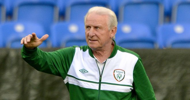 Giovanni Trapattoni: Can no longer call upon Shay Given or Damien Duff
