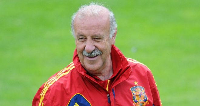 Vicente del Bosque: Insists Spain are comfortable with their intricate style