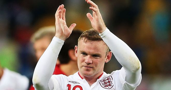 Wayne Rooney: Named England captain for World Cup qualifier with San Marino