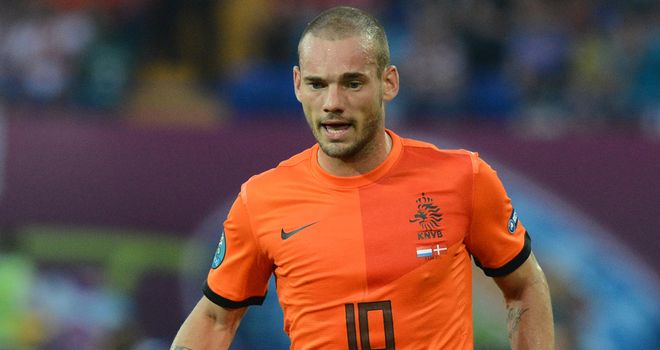 Wesley Sneijder: Hoping to help Louis van Gaal enjoy World Cup success