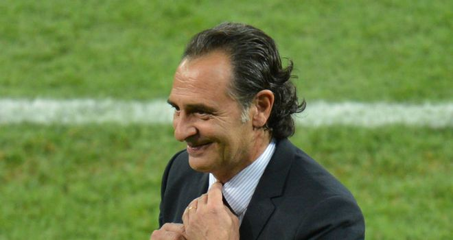 Cesare Prandelli: Italy coach wants to celebrate the win over England before focusing on Germany