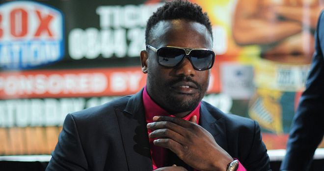 Dereck Chisora: Insists he is a reformed character