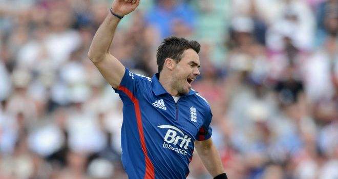 Committed: Anderson says he remains committed to England's ODI side