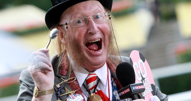 McCririck: Has begun proceedings