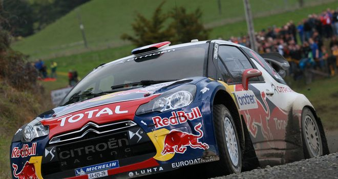 Sebastien Loeb: also triumphed in New Zealand in 2005 and 2008