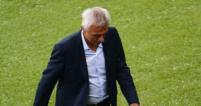Bert van Marwijk: Stepped down following Holland's unhappy Euro 2012 campaign