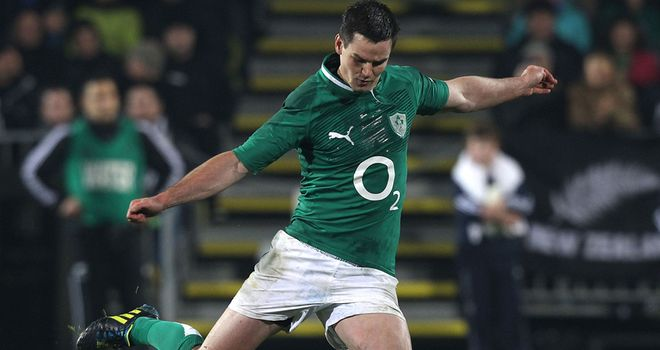 Johnny Sexton: is in line for a place on the British and Irish Lions tour to Australia