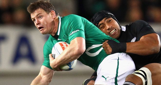 Brian O'Driscoll: Linked to a move to the Waratahs