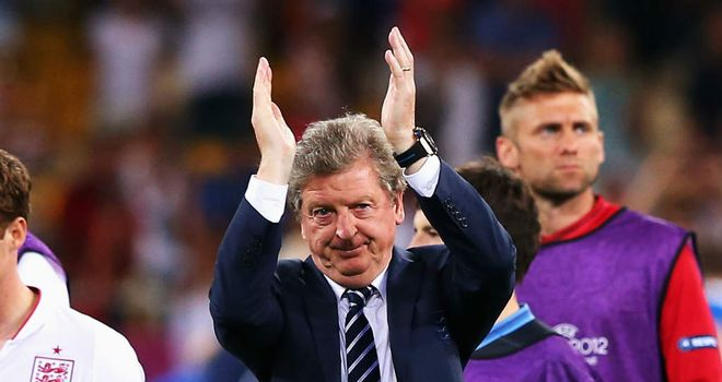 Roy Hodgson&#39;s England sit fourth in the latest FIFA world rankings