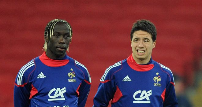 Bacary Sagna: Arsenal full-back has defended his France team-mate Samir Nasri