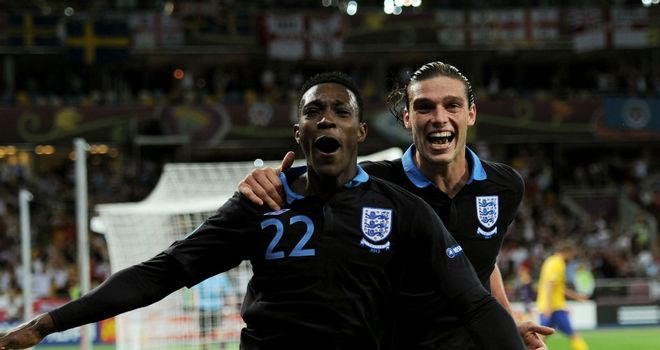 Danny Welbeck and Andy Carroll: One will have to make way to accommodate Wayne Rooney