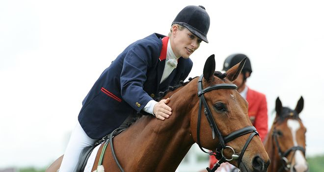 Zara Phillips: Hails her horse High Kingdom