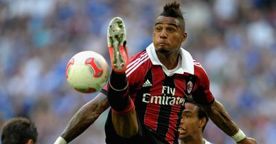 Kevin-Prince Boateng: Looking to follow up his goal against Barcelona