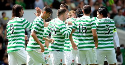 Celtic: Celebrating Commons' goal