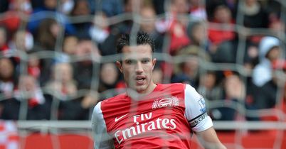 Van Persie: Calling time on his spell at Arsenal