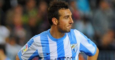 Cazorla: With Malaga for the 2011/12 season