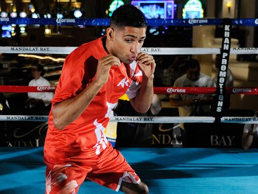 Amir Khan: Big plans for 2013