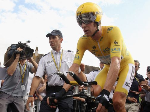 Bradley Wiggins: Tour winner