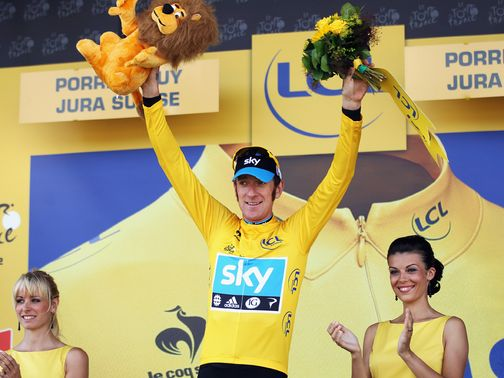Bradley Wiggins: First Tour stage win