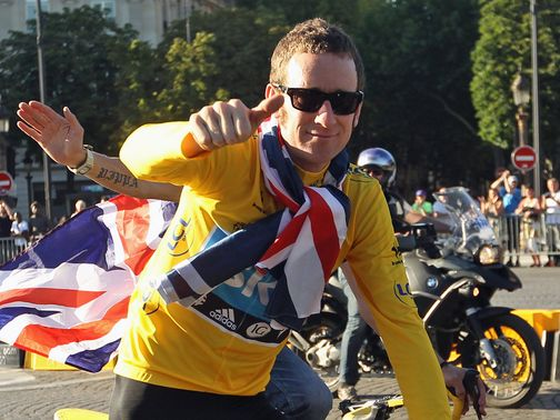 Bradley Wiggins was the Tour de France&#39;s first British winner