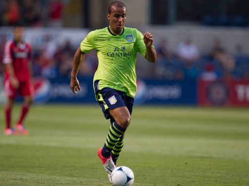 Agbonlahor: Out for four to five weeks