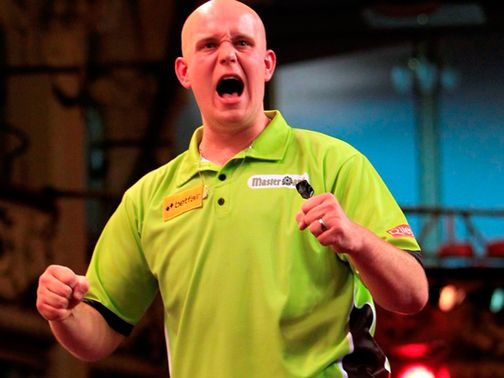 Van Gerwen: Reached Dublin final