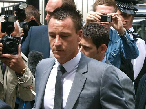 John Terry: Cleared at Westminster Magistrates' Court