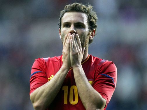 Juan Mata: Left out of current Spain squad