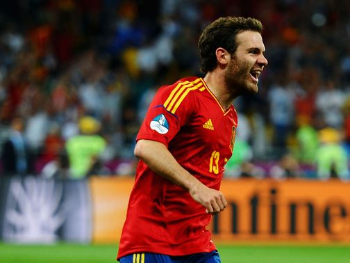 Juan Mata: Named in Spain preliminary squad