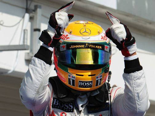 Lewis Hamilton: Claimed victory in Hungary on Sunday