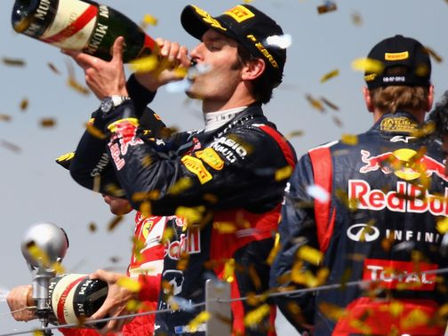 Mark Webber: Staying at Red Bull