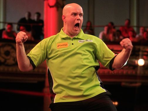 Michael van Gerwen: Dumped out Phil Taylor