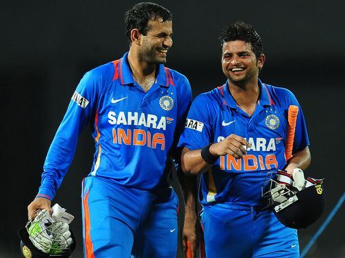 Pathan and Raina saw India home